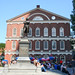 Faneuil Hall with Samuel Adams Statue - Boston
