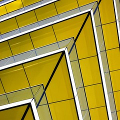 Greased Lightning (Andrea Kennard) Tags: new city roof light sky urban white abstract black reflection building tower texture geometric window glass up lines yellow metal wall architecture modern facade skyscraper design town office high construction pattern exterior view apartment background steel grunge perspective center structure retro neighborhood business frame tall