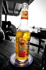 Amstel Bright 2 (www.kasvanzonneveld.com) Tags: blackandwhite bw white cold netherlands beer bar island bright bier zwart wit nederlands bonaire amstel kroeg antilles eiland antillen nederlandse