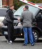 Steven Gerrard arriving in Dublin to record an interview for RTE television's Late Late Show Dublin, Ireland