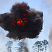 Explosive ordnance Marines heat up for air show