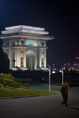 Pyongyang Arch of Triumph (Joseph A Ferris III) Tags: monument victory archoftriumph northkorea pyongyang dprk juche