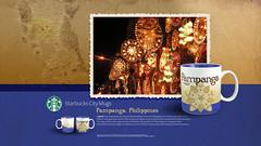 Starbucks City Mug Pampanga Desktop Wallpaper (Magic Ketchup) Tags: philippines starbucks mug desktopwallpaper pampanga citymugs 2008series