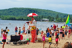 03 Beach at Camp of the Woods (Adventure George) Tags: summer vacation usa newyork beach sand unitedstates newyorkstate recreation speculator adirondack hamiltoncounty lakepleasant adirondackpark campofthewoods nikond700 photogeorge naturalsandbeach