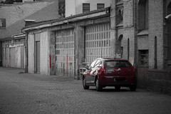 Lightroom, meine ersten Schritte (Skley) Tags: auto red rot car photography photo foto fotografie creative picture commons cc creativecommons bild licence kreativ colorkey lizenz skley dennisskley