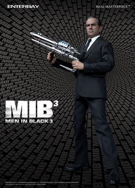ENTERBAY 1/6 REAL MASTERPIECE MIB 星際戰警3