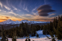 Sunset On Tumalo Mountain_0086_87_88 (chasingthelight10) Tags: mountains nature oregon centraloregon photography landscapes twilight events sunsets places vistas brokentop southsister threesisterswilderness tumalomountain