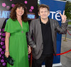 Shane MacGowan, Victoria Mary Clarke The 50th Anniversary of 'The Late Late Show' at RTE Studios Dublin, Ireland