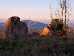 Cooleman Ridge view,  Black Mountain at sunset, Canberra IMG_0133 (BRDR images) Tags: sunset ecology photography australia environment canberra blackmountain naturephotography australiancapitalterritory coolemanridge