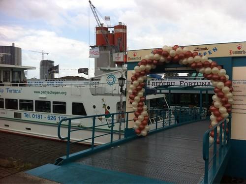 Ballonboog 8m Partyschip Fortuna Spijkenisse