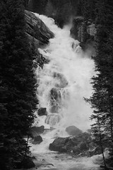 Other view of the falls (andrewpug) Tags: blackandwhite white black beautiful beauty waterfall nice rocks falls