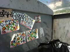 TEXAS CITY KIDS (Franny McGraff) Tags: beach austin regan cares cork stickers tck bacne