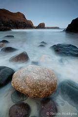 Kynance ([[BIOSPHERE]]) Tags: uk sunset sea beach nature landscape coast cornwall kynancecove