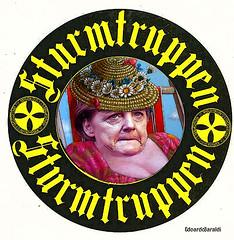 MERKEL (edoardo.baraldi) Tags: merkel sturmtruppen eurobond