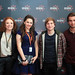 Melanie Hill, Madeleine Clark, Harry McEntire and Christian Cooke after the screening of Unconditional at the Cineworld