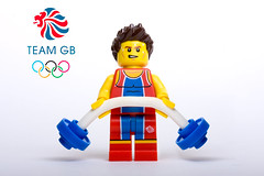 Team GB - Weight lifter (Sad Old Biker) Tags: pictures desktop uk wallpaper england cute london smile canon poster geotagged toy photography gold photo funny europe kevin lego bend photos sale lol background awesome images humour best card photograph buy british minifig olympics heavy ever coolest cutest weight lifter 2012 lifting rofl poulton teamgb meddal kevinpoulton sadoldbiker lmal finniest