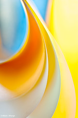 Sleek Layers (bnilesh) Tags: abstract colors paper warm pattern shapes layers sleek silky
