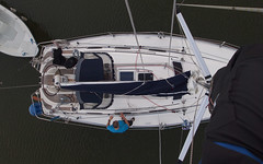 View from above (Fredrik Barlund) Tags: above sailboat pen olympus mast senja epl1
