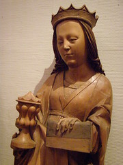 Two female saints from ubica, c 1520 (DeBeer) Tags: sculpture art saint statue museum gothic carving nationalgallery slovensko slovakia artmuseum zips bratislava woodcarving woodenstatue woodensculpture 16thcentury 1520 lategothic spis 1510s gothicart 1520s spi spisz gothicsculpture northernrenaissance slovaknationalgallery 16thcenturyart gothicstatue femalesaint szepes slovensknrodngalria lategothicart nationalgalleryofslovakia slovakart lategothicsculpture lategothicstatue slovaksculpture 16thcenturysculpture 16thcenturystatue
