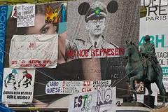 Mezcla (OndasDeRuido) Tags: madrid sol spanishrevolution acampadaalsol