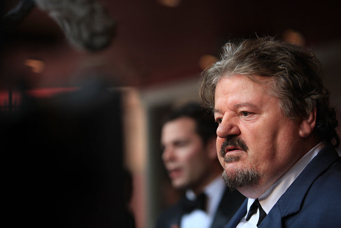 Robbie Coltrane at the European premiere of Brave at the Festival Theatre