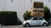 I Got This! (L4K0) Tags: car bug volkswagen unsafe beetle ghetto crates overloaded thereifixedit