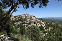 Gordes - France (david.bank (www.david-bank.com)) Tags: summer france landscape town europe hill provence gordes