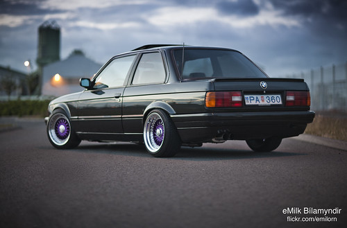 Flickriver Photoset Bmw E30 325i Coupe On Purple Bbs Rs By Emilk