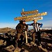 "gaotw0068<br /><span style=""font-size:0.8em;"">Alex Aitken and Michael Pattison at the top of Mt. Kilimanjaro, 2011.</span> • <a style=""font-size:0.8em;"" href=""http://www.flickr.com/photos/68478036@N03/7520092774/"" target=""_blank"">View on Flickr</a>"