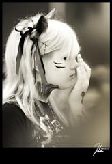 Anime Expo(AX) 2012 (Hsin Tai Liu) Tags: portrait people 6 white black anime art june 30 cat photography japanese yahoo liu los google search flickr expo angeles cosplay culture july kitty 7 center pop tai convention hsin bing 2012 stumbleupon tumblr animeexpo2012