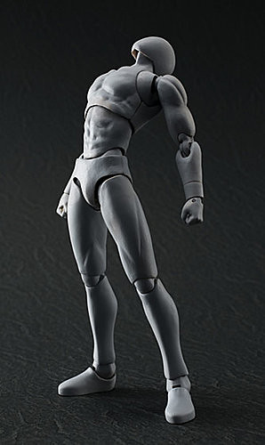 BANDAI Action Figure 可動關節素體