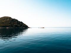 Dalmatian Serenity [Explored] (jp3g) Tags: ocean sea reflection water islands croatia calm panasonic g3 dalmatian adriatic