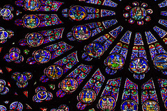 Rosa Mystica (Lawrence OP) Tags: paris window glass rose cathedral gothic medieval notredame stained virginmary prophets patriarchs