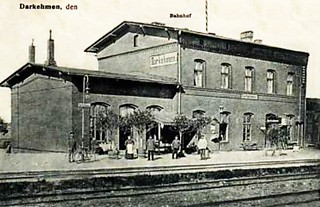260 Darkehmen - Bahnhof 1911
