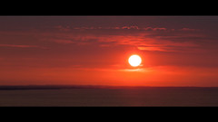 The Rising Sun (echopictures) Tags: morning orange sun toronto ontario canada beautiful landscape rising cliffs scarborough bluffs 70200 500d f4l t1i