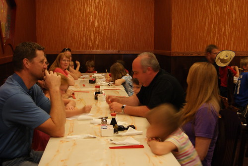 Summer Camp Hibachi Dinner 6-15-2012