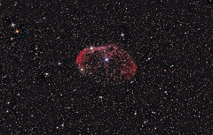 The Crescent Nebula - First Guided Image 23 July 2012 (BudgetAstro) Tags: nikond70 astrophotography dss cygnus dso ngc6888 astroimaging crescentnebula deepskystacker deepskyobject Astrometrydotnet:status=solved caldwell27 Astrometrydotnet:version=14400 sharpless105 Astrometrydotnet:id=alpha20120741498729