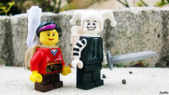 Week 30 (chrisofpie) Tags: 52 52weeks 52weeksofliamthemime brave chris chrisofpie knight jester heroes hero funny lego legohero legos liam lol mime minifig minifigure minifigures pie project stunningphotogpin stunningphotography toy weeks whitejester toys sally dragonwizard dragon