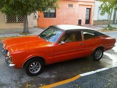 Argentine Taunus TC1 coupe GT (Ale06.6) Tags: orange brown classic argentina buenosaires vinyl alemania inside trim naranja coupe sporty clasico deportivo tc1 tc2 tc3 fordtaunus yountimer tapizado blackvinylroof