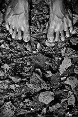 Feel the Earth.... (Z A Y A N) Tags: wild summer blackandwhite bw feet nature weather 50mm earth documentary dry soil drought vein climatechange bnw warming global globalwarming nationalgeographic natgeo nowater drysoil zayan documentaryphotography droughts feettoes feetontheground stopglobalwarming watercrisis driedsoil feetonground feeltheearth zayan1904 dryworld gettyimagesbangladeshq12012 drysoiltexture droughtsinasia israrzayan