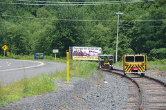 IMGP6318 (geepstir) Tags: car reading pennsylvania rail pa shamokin speeder sunbury narcoa