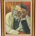140. Oil Painting of a Rabbi
