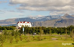 Heading to Akureyri (SigHolm - Very Busy) Tags: travel golf hotel iceland august sland hamar 2012 islande gst fer skarsheii borgarnes borgarfjrur