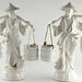 409. Pair of Blanc-de-Chine Figures
