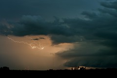 Topeka Lightning (thefisch1) Tags: lightning kansas storm thunder ominous cloud horizon nikon oogle interesting nikkor