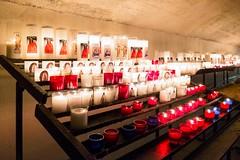The crypt (Luca Quadrio) Tags: candles france tradition colours gypsy pilgrimage devotion veneration sarah colour religion provence camargue colourful crypt europe saintesmariesdelamer sara provencealpesctedazur francia fr