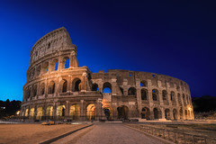 Morning With The Tigers... (JH Images.co.uk) Tags: rome italy colosseum blue hour night morning sky art architecture roma