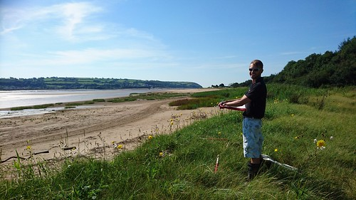 Saltmarsh ground truthing with Adski, Llansteffan