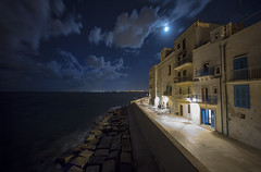 Centro Storico di Monopoli (cpphotofinish) Tags: centro storico di monopoli puglia apulia centrostorico bari itali italy canon cpphotofinish carstenpedersen canondslr canon5dmk3 square water weather eos5dmk3 ef14mmf28lusm tourist yellow usm image italia is outdoor outside ocean photo panoramic panorama sky dslr dark foto farger harbour july light landscape canonredlable canonef color canonmkiii clouds blue bluelight mklll carst1 beach duomo citywall night moon