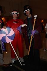 Willy Wonka and Oompa (Romanopolis) Tags: dragoncon2016 marypoppins family fun robin r2d2 tedroman timroman udreplicas dawnofjustice armoredbatman deadrobin harrypotter bellatrixlestrange